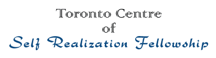 Donate to Toronto Centre | Self-Realization Fellowship